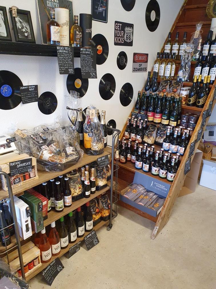 Vin, specialøl og specialiteter