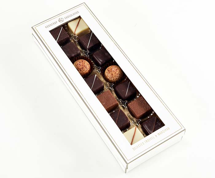 Husets eksklusive chokolader, medium