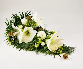 5b4a43e81 Begravelsesbuketter og kistepynt | Dag til dag-levering →
