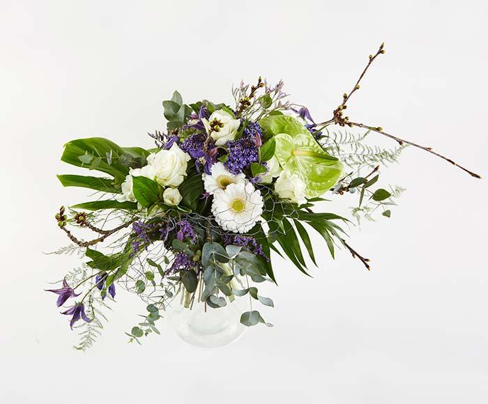 Designerbuket, floristens valg