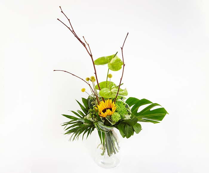 Variationsbuket, floristens valg