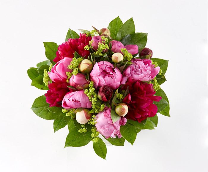 Image of   Send blomster, Blandede bonderoser