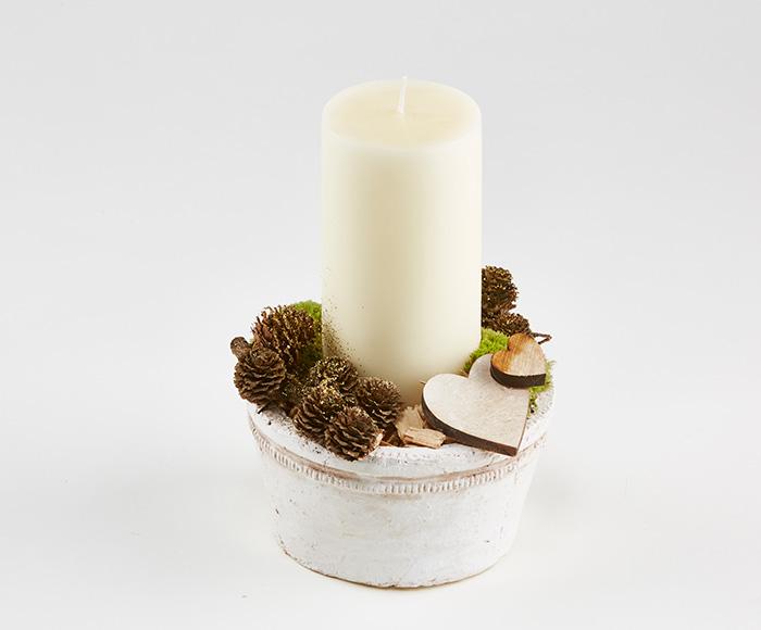 Image of   Enkel og varm juledekoration