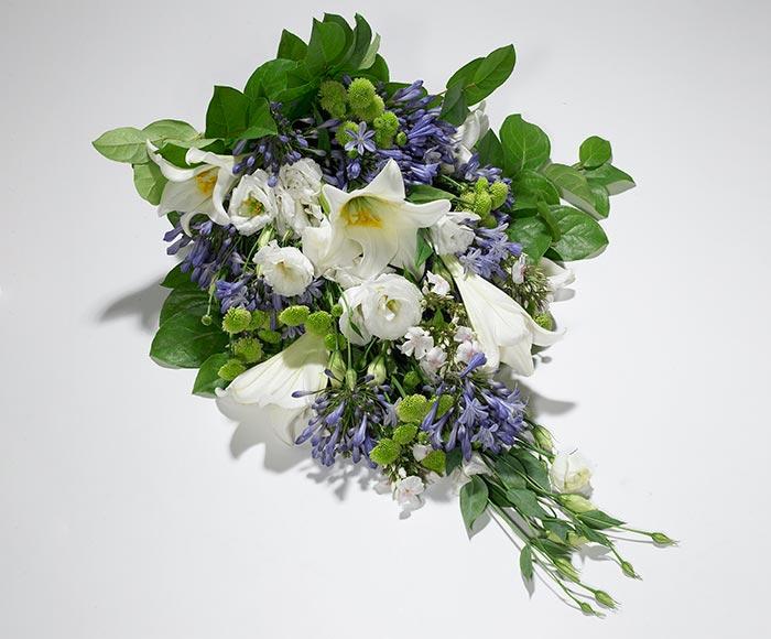 Image of   Bårebuket, floristens valg