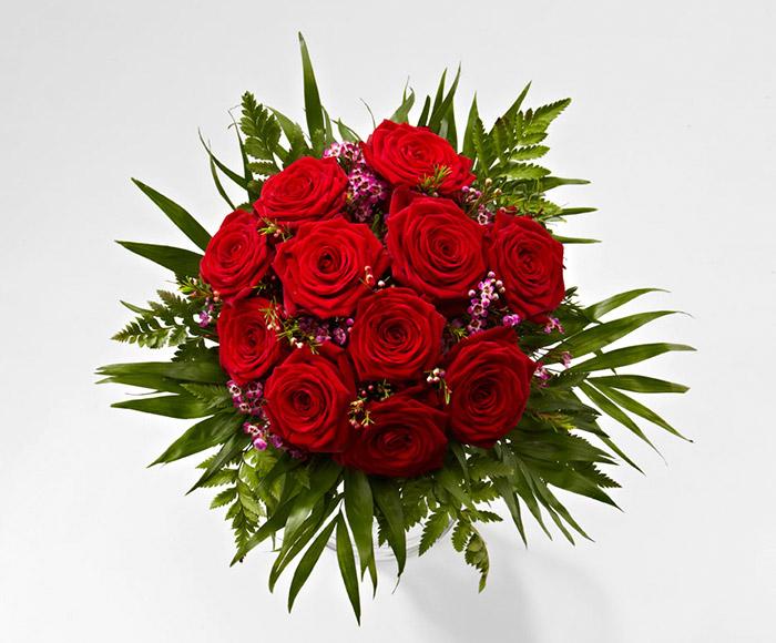 Kærlighedsbuket af roser