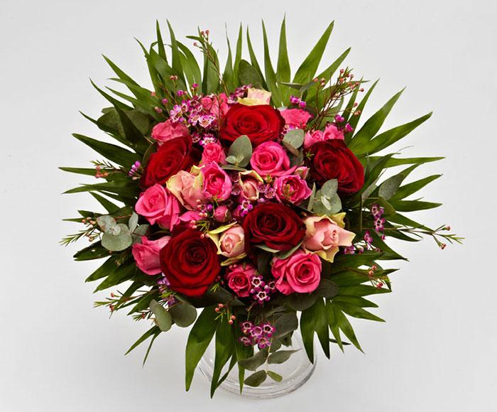 Image of   Romantiske roser