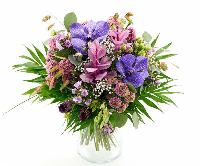 Lav buket, floristens valg