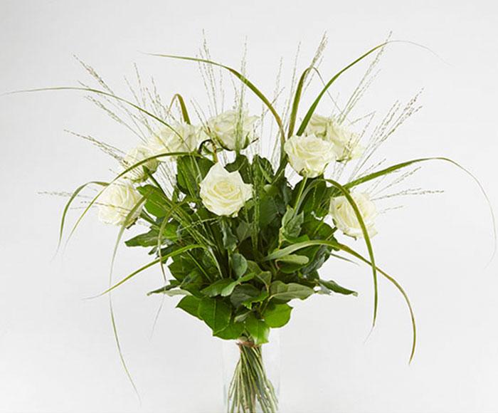 Hvide roser