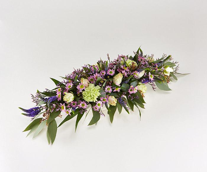 Image of   Farverig blomsterdekoration