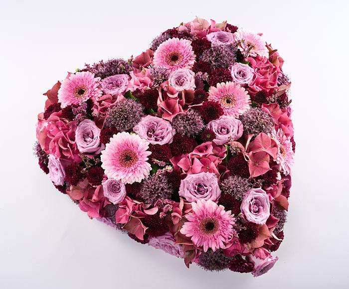 Blomsterhjerte, floristens valg