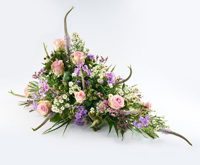 Båredekoration, floristens valg
