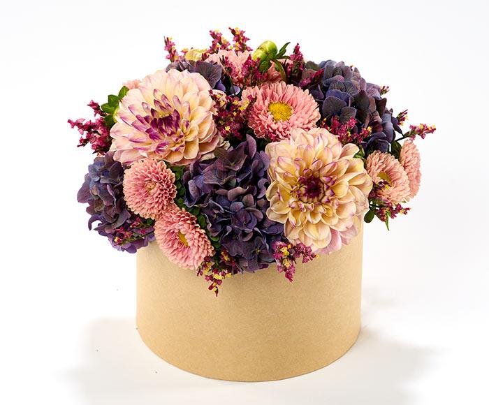 Blomsteræske i efterårslook