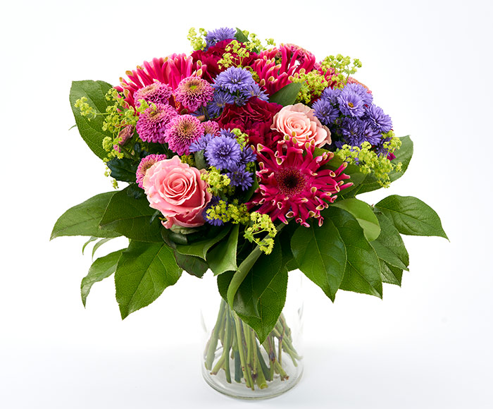 Mors farverige blomsterdrøm