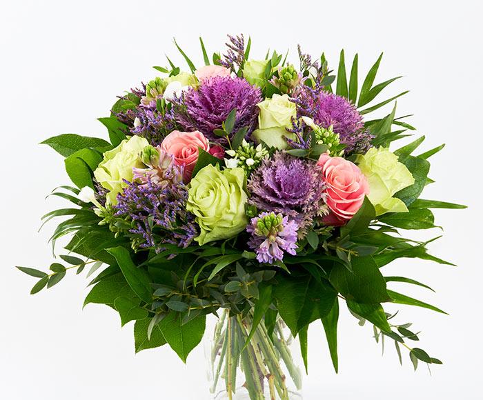Nytårsbuket, floristens valg