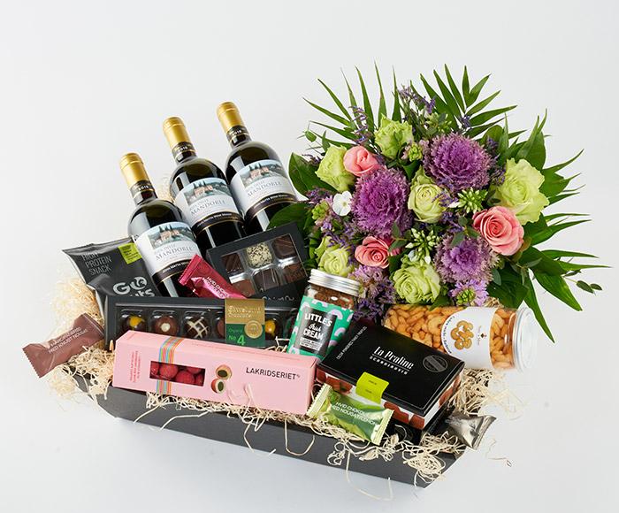 Gavekasse, floristens special