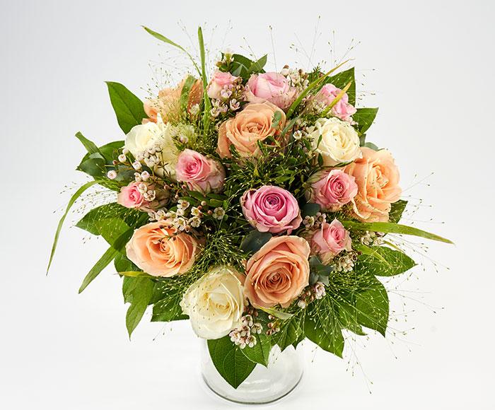 Valentinsbuket, floristens valg