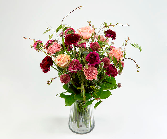 Forårsbuket, floristens valg