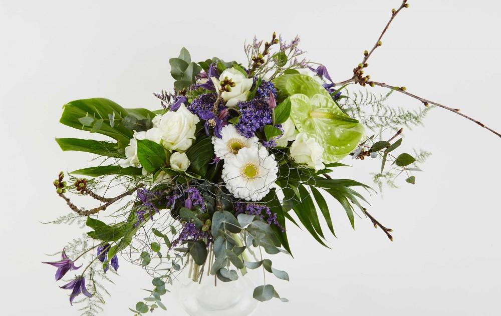 Fødselsdag - fejr dagen med blomster med Bloomit